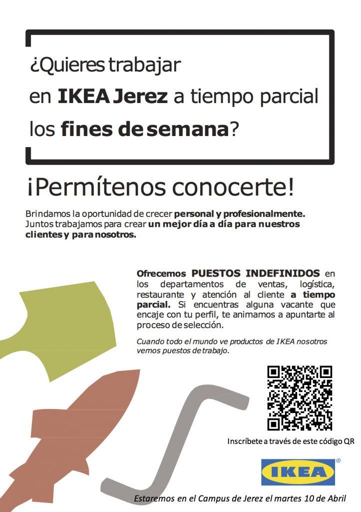 Presentación de la oferta de empleo de IKEA para el verano para alumnos universitarios