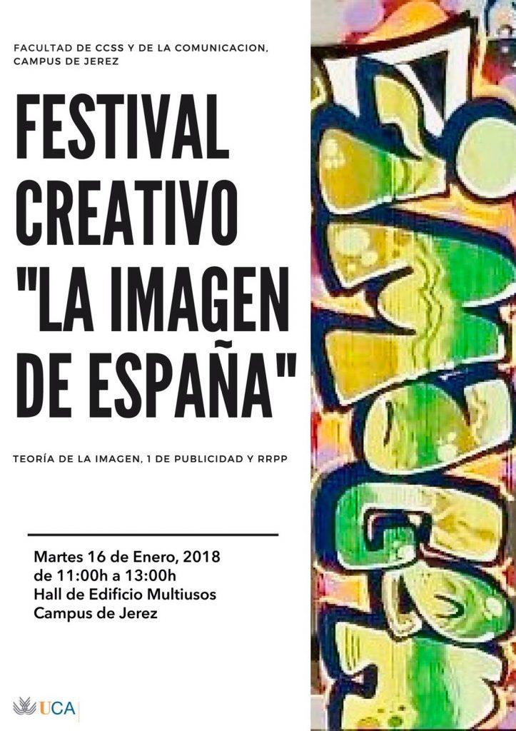 """Festival Creativo """"La imagen de España"""""""