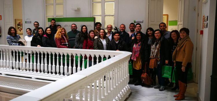 Visita de los alumnos del Máster en Gestión y Administración Pública a la Sede del Defensor del Pueblo Andaluz y al Parlamento Andaluz