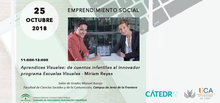 """Conferencia: """"Aprendices visuales: de cuentos infantiles al innovador programa Escuelas Visuales"""" – Dña. Miriam Reyes"""