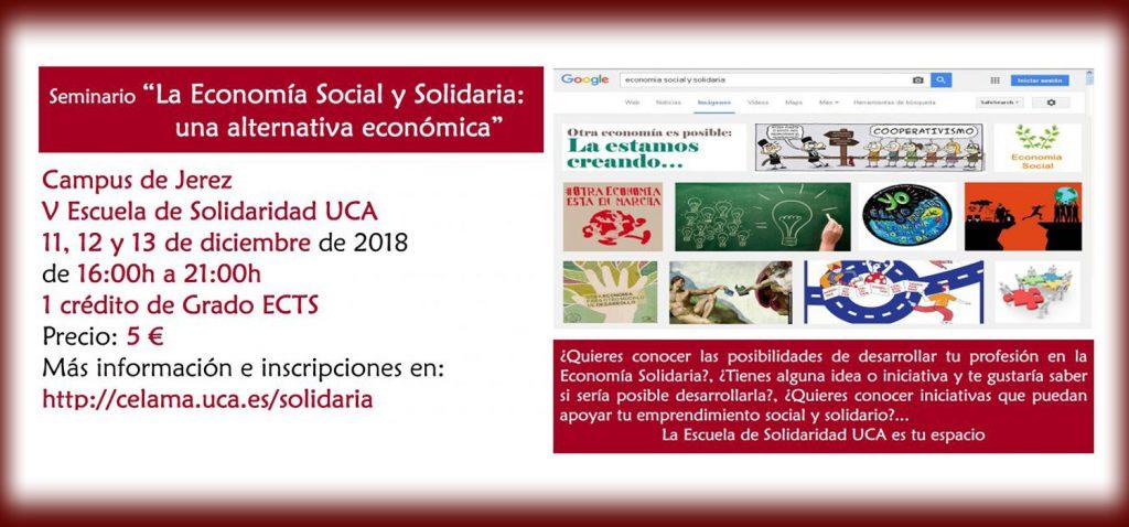 """Seminario """"La Economía Social y Solidaria: una alternativa económica"""""""