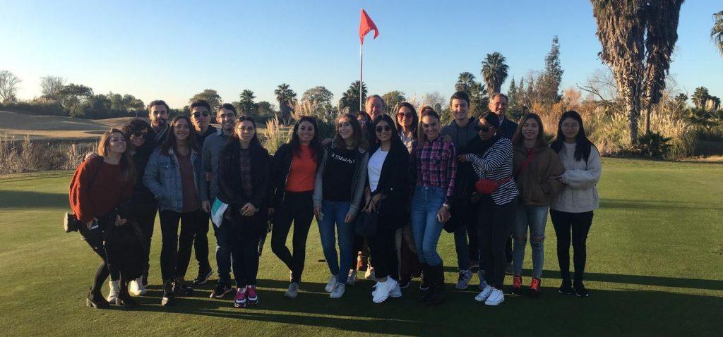 Visita del alumnado del Máster en Dirección Turística al Campo de Golf Sherry Golf