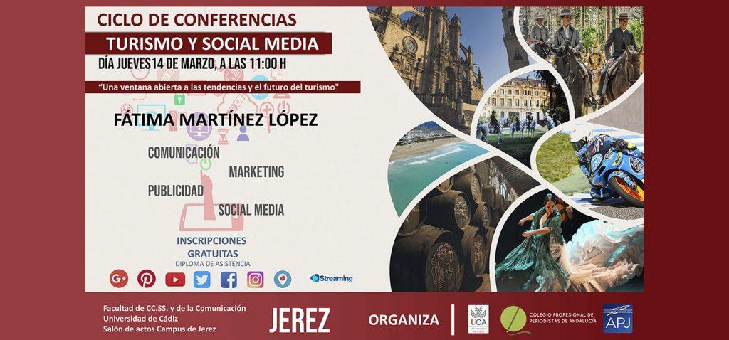 """Ciclo de Conferencias Turismo y Social Media: """"Una ventana abierta a las tendencias y el futuro del turismo"""""""