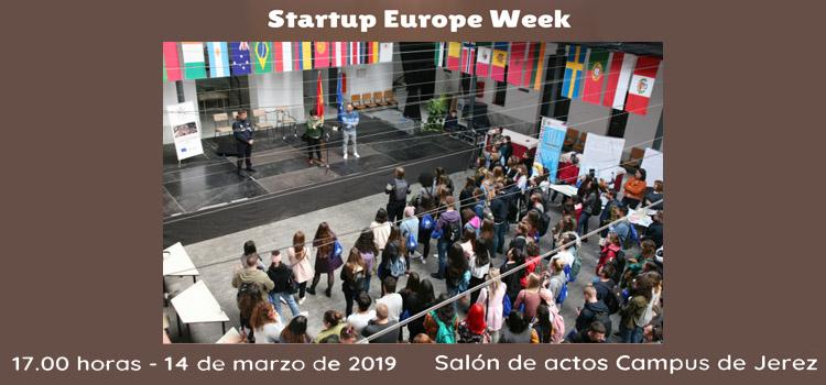 Startup Europe Week en la Facultad de Ciencias Sociales y de la Comunicación