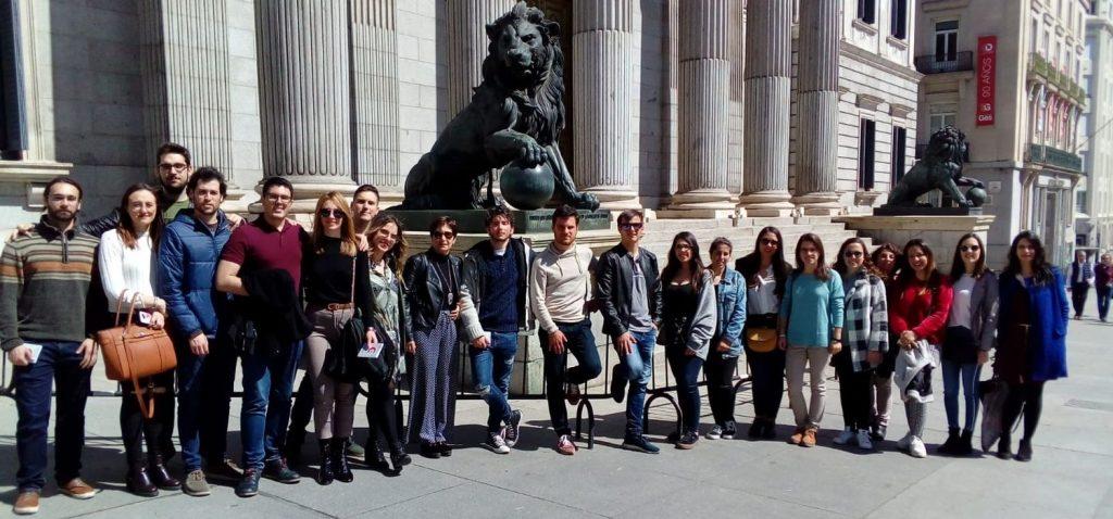 Visita Educativa en Madrid del alumnado del Grado en Gestión y Administración Pública