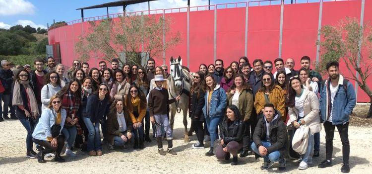 Estudiantes de Turismo visitan A Campo Abierto
