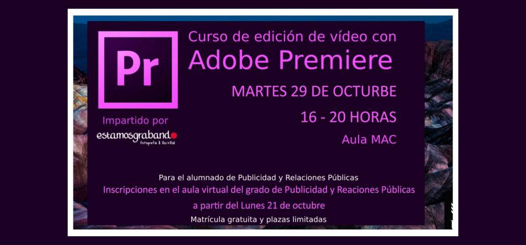 Curso de edición de video con Premier