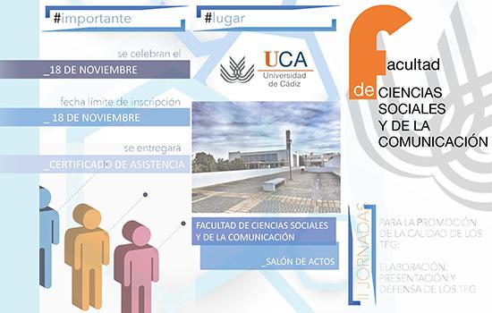 IMG II Jornadas para la Promoción de la Calidad de los TFG: Elaboración, Presentación y Defensa de los TFG