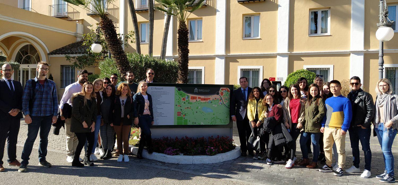Visita al Hotel Barceló Montecastillo de los alumnos del Máster en Dirección Turística