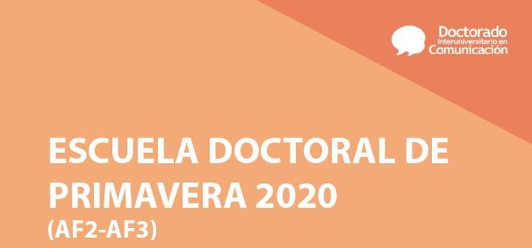 Escuela Doctoral de Primavera 2020