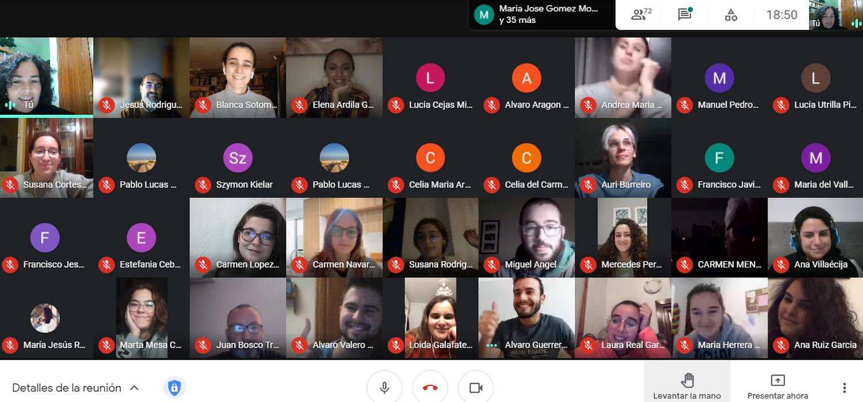 Celebrada la I Jornada virtual de Orientación Académica y Profesional