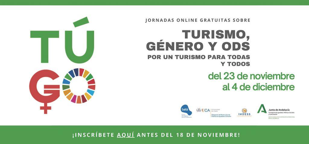 """Jornadas """"Turismo, Género y ODS. Por un Turismo para Todas y Todos"""""""